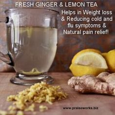This is a wonderful drink for weight loss, natural pain relief AND getting rid of flu like and cold symptoms.