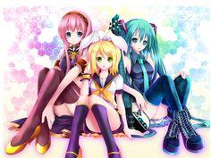 Vocaloids Wallpaper - Vocaloids Wallpaper (8317060) - Fanpop