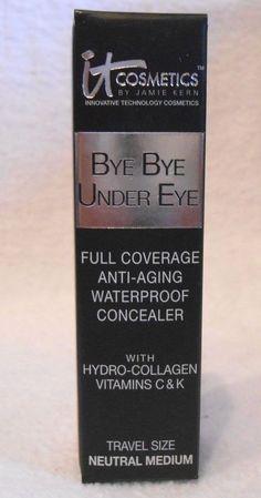 It Cosmetics Bye Bye Under Eye ~ Anti-Aging Concealer ~ Travel Size ~ 0.11oz