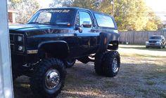 1985 Chevrolet K5 Blazer Dually