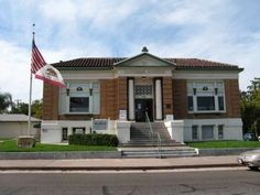 1912 Roseville Carnegie Library, Museum and Historical Society, Roseville, California