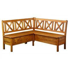 Rustikální rohová lavice CORDOBA SIL 19