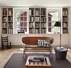 Living room of 18th century house by O'Neill Rose, Hidden Hollow, Remodelista