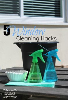 Window Cleaning HACKS and DIY Cleaning Tips!