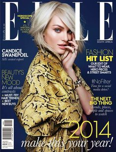 Candice Swanepoel for Elle South Africa - February 2014