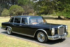 A friend bought one new in 1973 or so in Australia  - Mercedes Benz 600 Grosser - it was magical. I wonder where it is now?