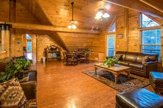 Pigeon Forge cabin rental in the Smoky Mountains. Pigeon Forge Cabin Rentals, Smoky Mountains Cabins, Wedding Venues, Vacation, Wedding Places, Vacations, Holidays Music, Wedding Locations, Holiday