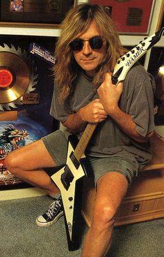 Glen Tipton of Judas Priest Heavy Metal Music, Heavy Metal Bands, Sound Of Music, Good Music, Hard Rock, Rock N Roll, 80s Hair Metal, Rob Halford, Defender Of The Faith