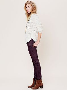 Free People Colored Skinny Jean at Free People Clothing Boutique