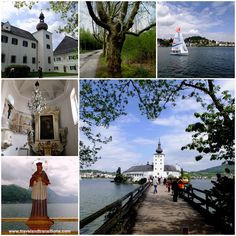 Gmunden, Schloss Ort, an island in the Traunsee Lake  http://www.travelandtransitions.com/austria-travel/