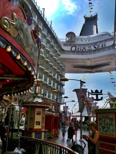 Oasis of the Seas arriva nel Mediterraneo: il Dream Blog a bordo del gigante dei mari