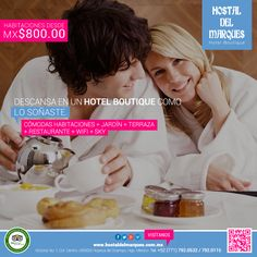 Flyer para Hostal del Marques.