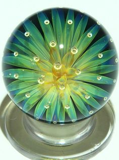 Art Glass paper weight from Kela's...a glass gallery on Kauai