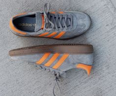 Adidas Originals Spezial Grey Orange Grey Shoes Men Orange Fashion Mens Sneakers Adidas Cloth