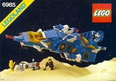 A Space set released in Best Lego Sets Ever, Legos, Lego Vintage, Vintage Space, Big Lego, Classic Lego, Lego Videos, Lego Spaceship, Lego Pictures