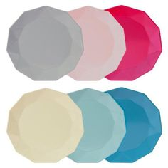 To Buy | Geometric Melamine Plates