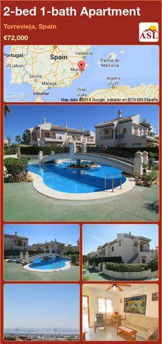 2-bed 1-bath Apartment in Torrevieja, Spain ►€72,000 #PropertyForSaleInSpain
