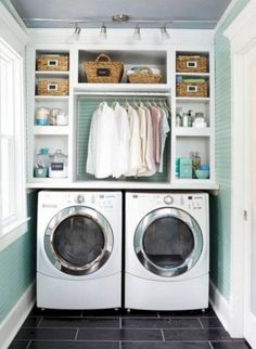 65+ Excellent Small Laundry Room Design Ideas 390