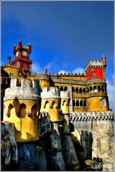 Palacio Da Pena, Sintra. Portugal