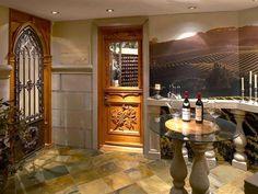 Wine cellar, Laurentians