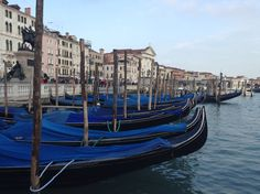 Gondolas at San Zaccaria