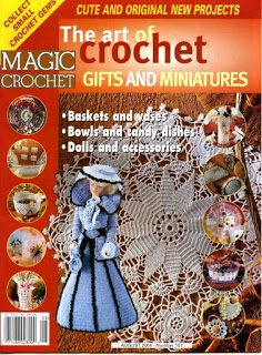 Free Crochet Patterns: Magic Crochet No. 151