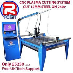 CNC plasma cutting is now affordable. Complete system with software ready to cut on a 4x4 table. Demonstrations are available in Gloucester. Call 01452 733933 to book your ​demo. Stock available for next day delivery. #rtechweldingcnc #plasmacnc #demo #rtechweldingequipment