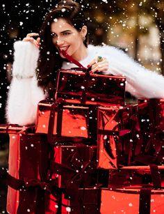 Рождественская сказка от Vogue Spain