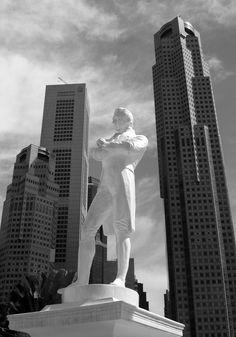 Sir Stamford Raffles statue, Singapore