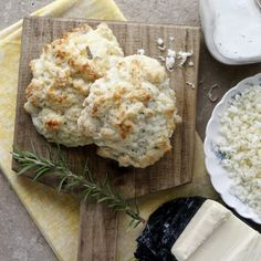 rosemary white cheddar biscuits! making these this week for sure