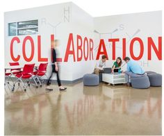 Vinyl infographics were used to create an 11-stop marketing tour through a newly available, vacant office building—and helped snag a tenant in San Jose, California by Gen...