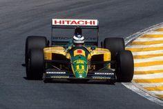 Mika Hakkinen (Lotus-Ford)  Interlagos 1992