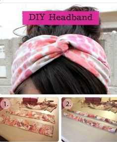 DIY Tutorial: How To Make Your Own Headband - Click the image for the Tutorial!