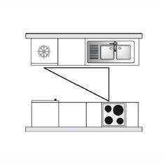 cuisine disposition en parall le cuisine. Black Bedroom Furniture Sets. Home Design Ideas