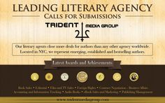Create ad for leading literary agency, Trident Media Group to appear in Poets
