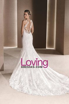 2016 Wedding Dresses Scoop Mermaid Tulle With Applique