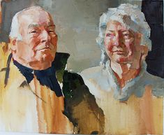 Oliver Akers Douglas, Sir William & Lady Dugdale, 28×37, oil on canvas, 2009