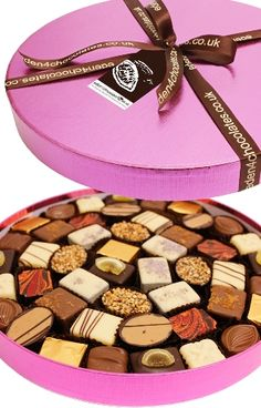 These delicious chocolates make a great gift - Eden Finest Belgian Chocolate Selection 750g www.eden4chocolates.co.uk