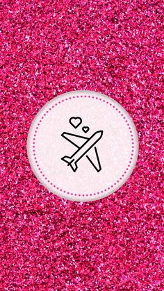 Pink Instagram, Instagram Logo, Free Instagram, Instagram Story, Angel Wallpaper, Cloud Wallpaper, Pink Glitter Background, Glitter Highlight, Party Printables