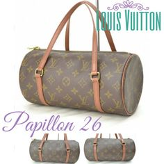 851b48a3dc7b One of LV s iconic bag! Vintage LV Papillon 26 in great condition! Made in  · Purses For SaleFlawsDust ...