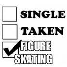 Yep and I'm fine with that! Yep and I'm fine with that! Ice Skating Funny, Figure Skating Quotes, Skating Pictures, On Thin Ice, Skate 3, Haha So True, Patriots Football, Skating Dresses, No One Loves Me