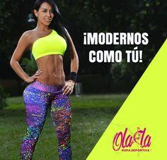 Visita nuestra tienda Online y conoce nuestra colección 2015, son prendas que resaltan tu figura haciéndote lucir esbelta y sentir cómoda. En Ola-la Ropa Deportiva somos, ¡MODERNOS COMO TÚ!  http://www.ola-laropadeportiva.com/home/143-4050.html  Contáctanos por WhatsApp al 318 8278826 Cali, Colombia.  #Mujer #GYM #Modernos #Olalaropadeportiva #Colombia