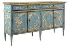 One Kings Lane - E.J. VictorDecoupage Is Simple! Update Your Kids Furniture thekidsroomdecor.com