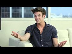 Grant Gustin as Finnick? Is this even a serious question? ;)