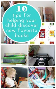 great suggestions on how to help your child (especially reluctant readers!) find new books to love