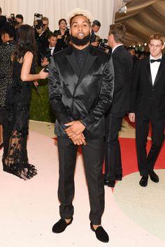 Odell Beckham, Jr. in Calvin Klein Collection #MetGala 2016