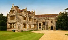 Athelhampton House, Dorchester, owned by the Cooke family since is the picture-perfect, medieval country house — its ancient, lichened stone seems to grow naturally out of the Dorset earth beneath English Manor Houses, English Castles, English House, Villas, English Architecture, Le Palais, Grand Homes, Country Estate, English Countryside