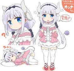 Kanna Kamui Cute.