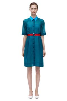 Victoria Beckham A-LINE SHIRT DRESS