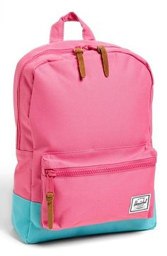 Cute pink Herschel backpack!